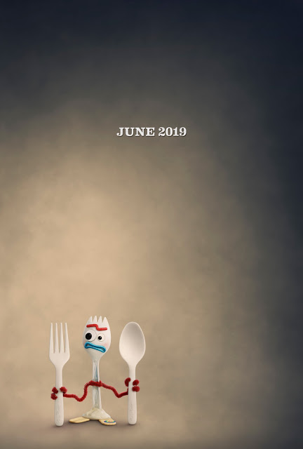 Toy Story 4 Forky Poster