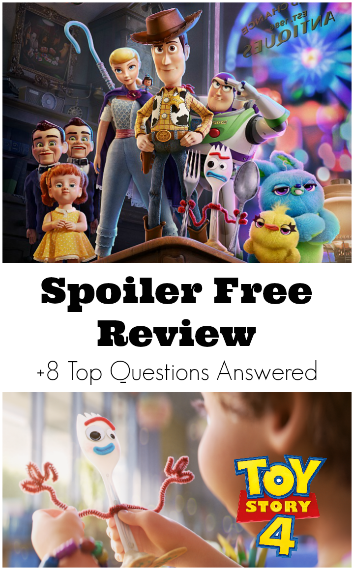 Spoiler Free Toy Story 4 Review