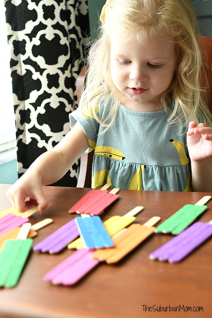 Toddler Color Matching Game