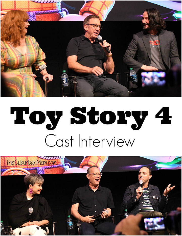 Toy Story 4 Interview Tom Hanks Tim Allen Keanu Reeves Tony Hale