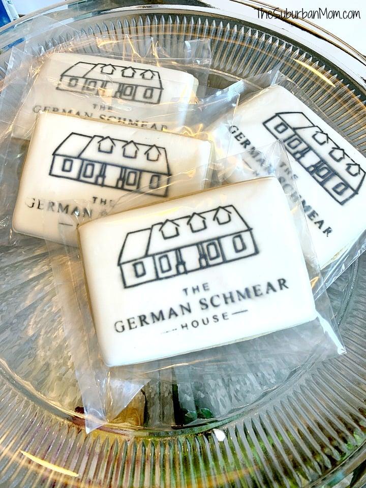 German Schmear House Cookies