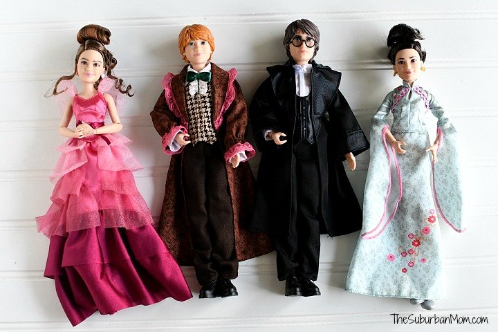 Hermione Granger, Ron Weasly, Harry Potter, Cho Chang Dolls