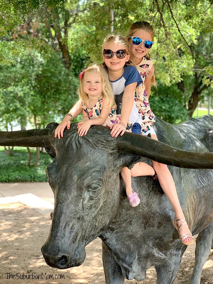 Texas Longhorn Statue Waco