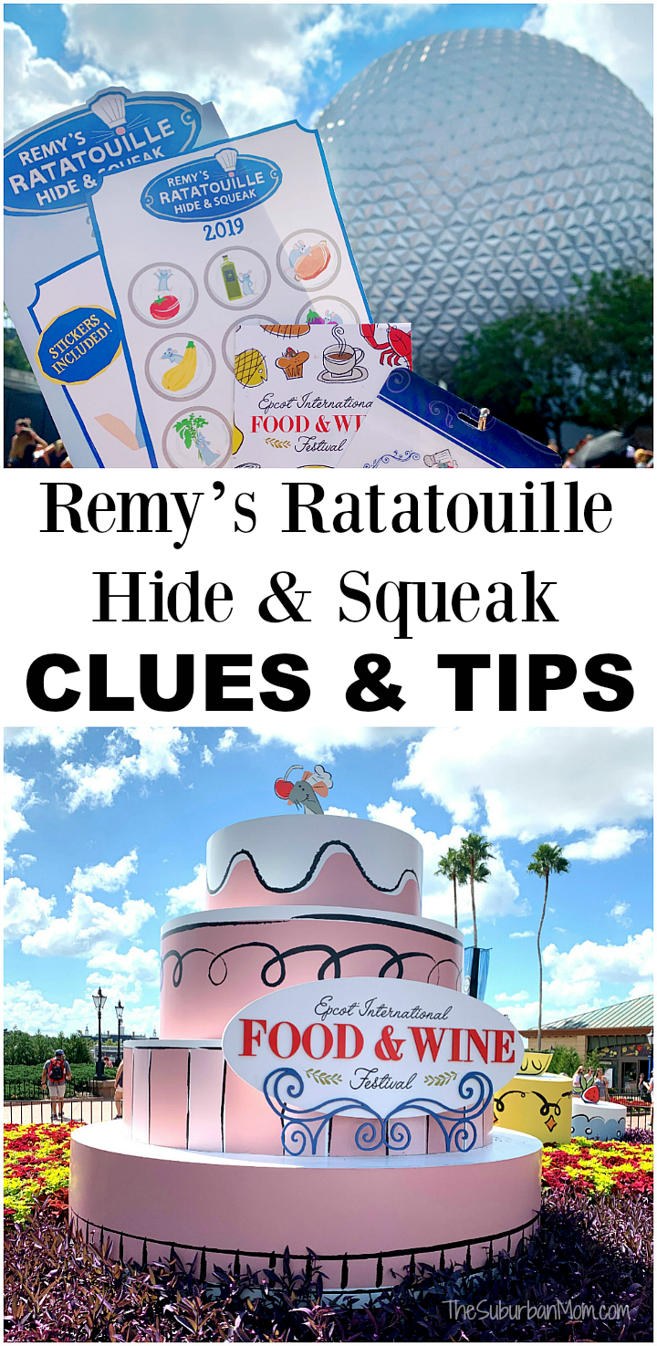 Remy's Ratatouille Hide & Squeak Clues Tips