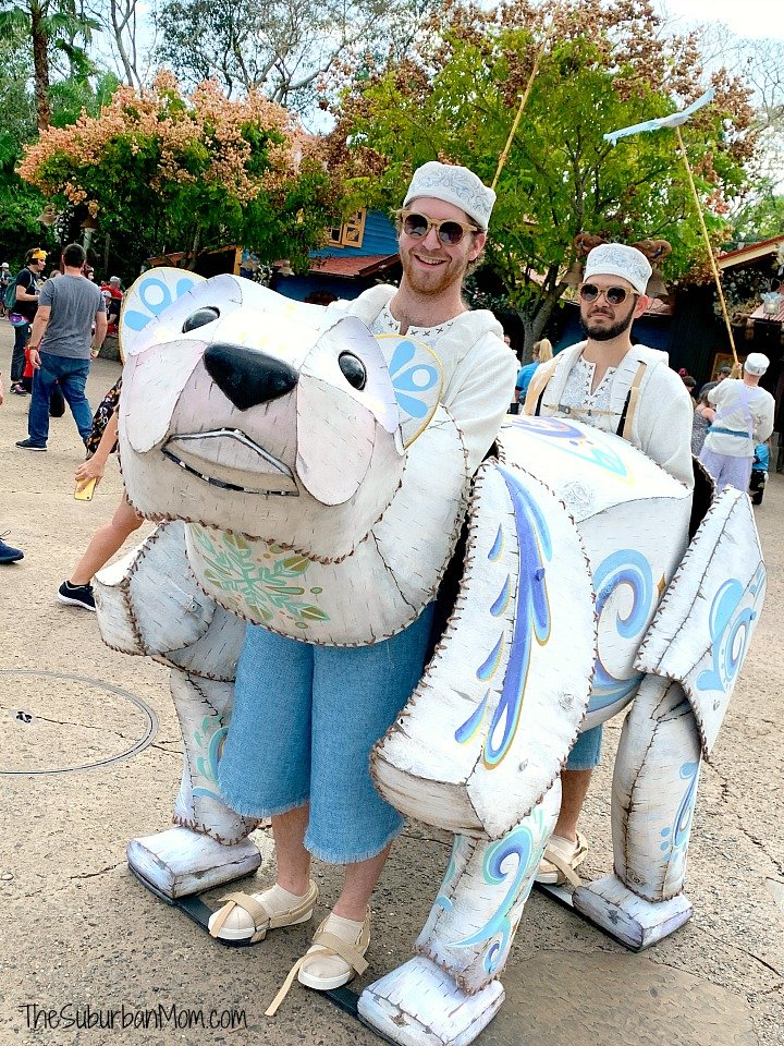 Animal Kingdom Polar Bear Puppet