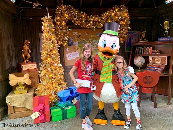 Animal Kingdom Scrooge McDuck Christmas