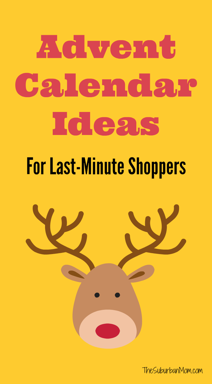 Last Minute Advent Calendar Ideas