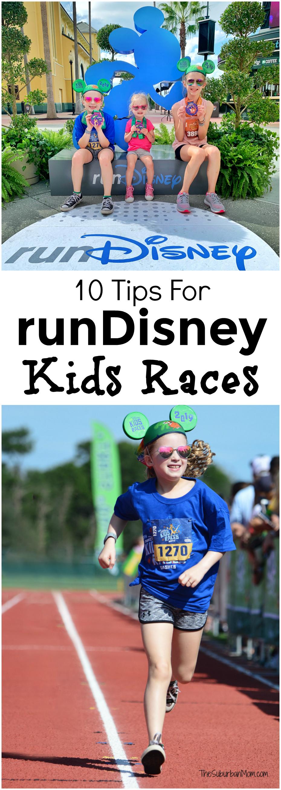 runDisney Kids Races Tips