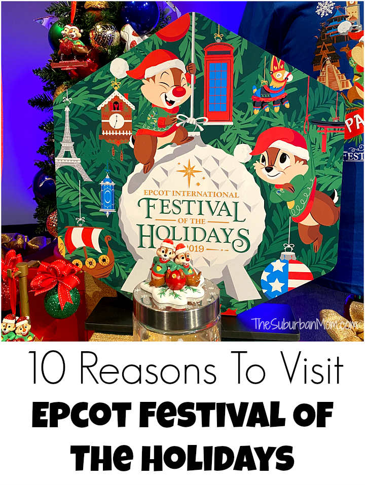 10 Reasons To Visit Epcot Festival Of The Holidays