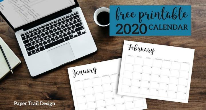 2020-Minimalist-Calendar