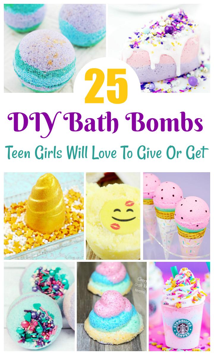 25 Teen Bath Bombs