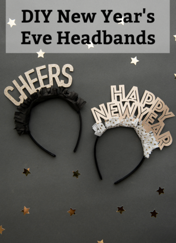 DIY New Year's Eve Headbands