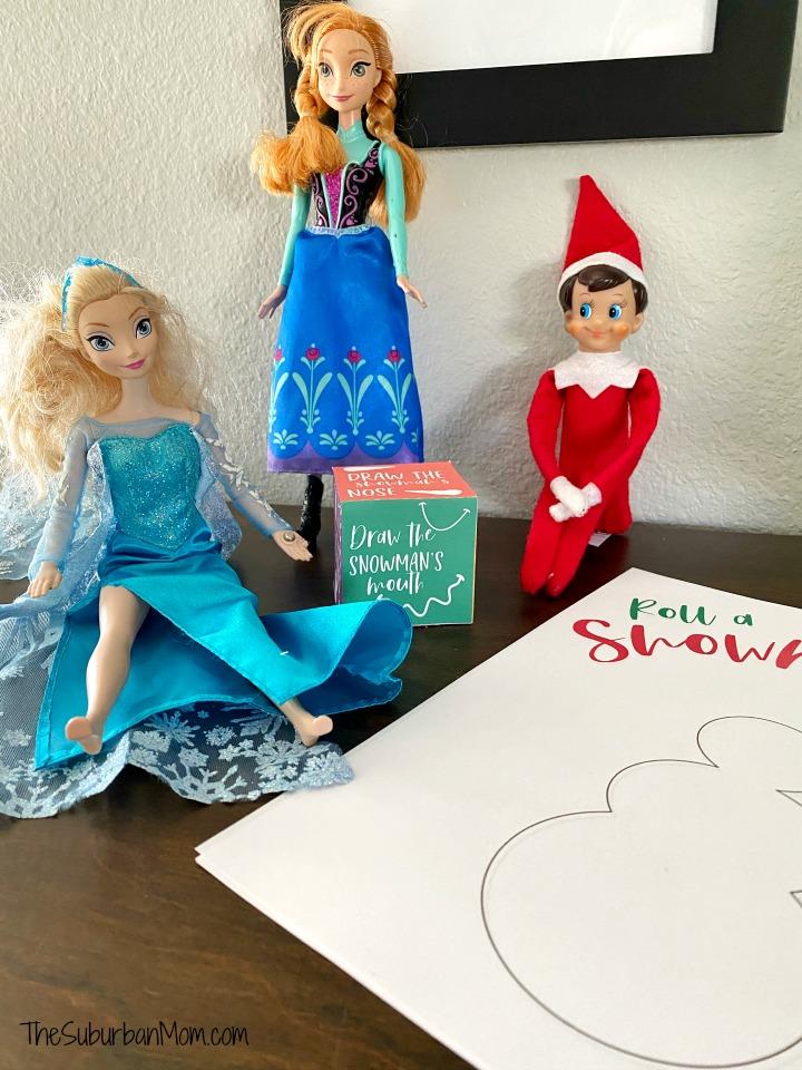 Do You Wanna Build A Snowman Elf on the Shelf