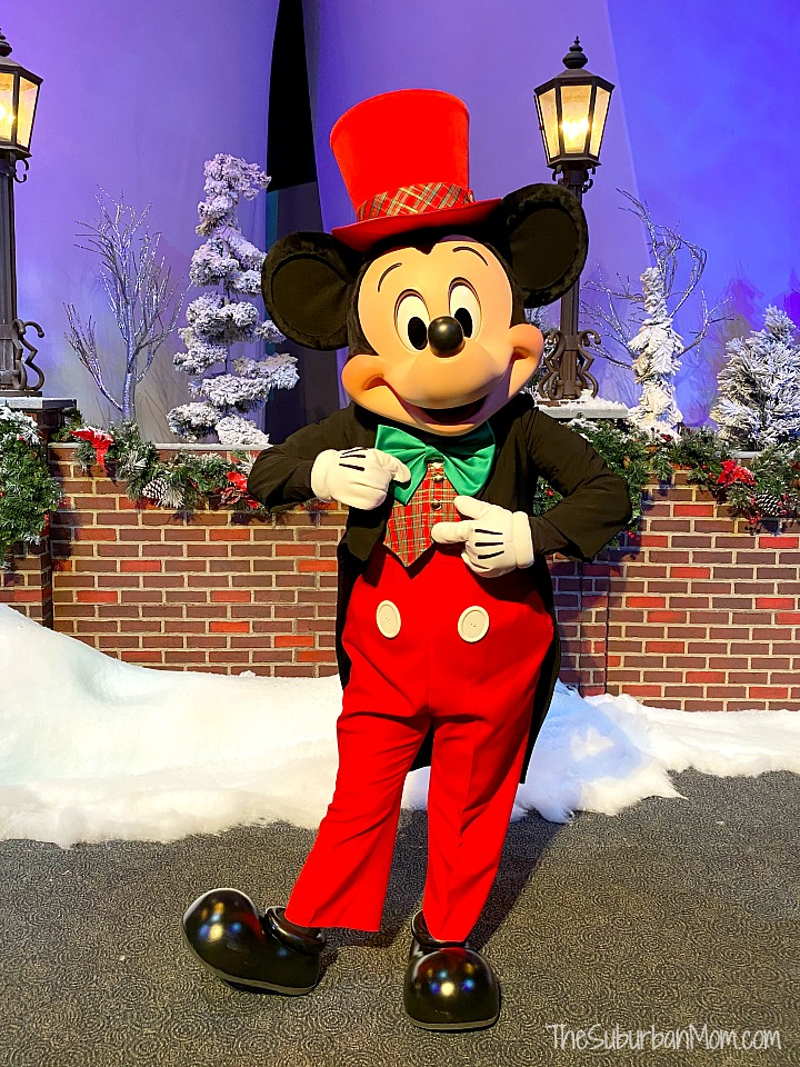 Epcot Mickey Christmas Outfit
