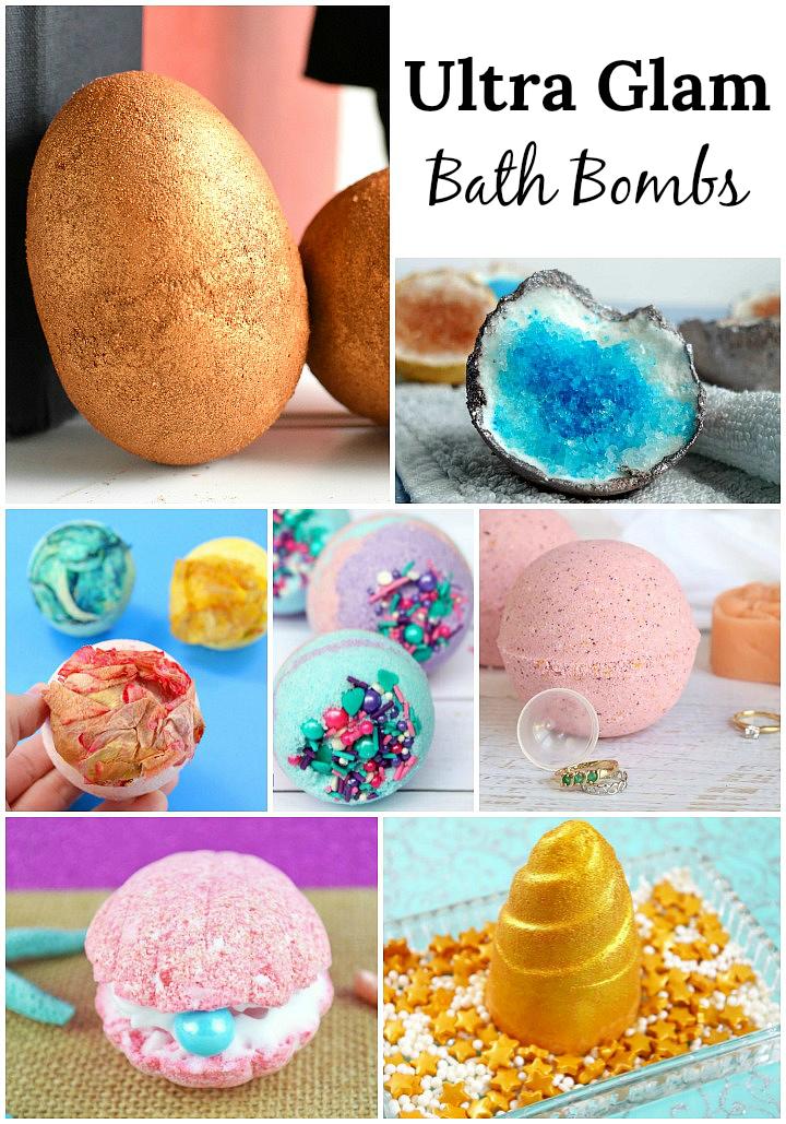 Glam Bath Bombs