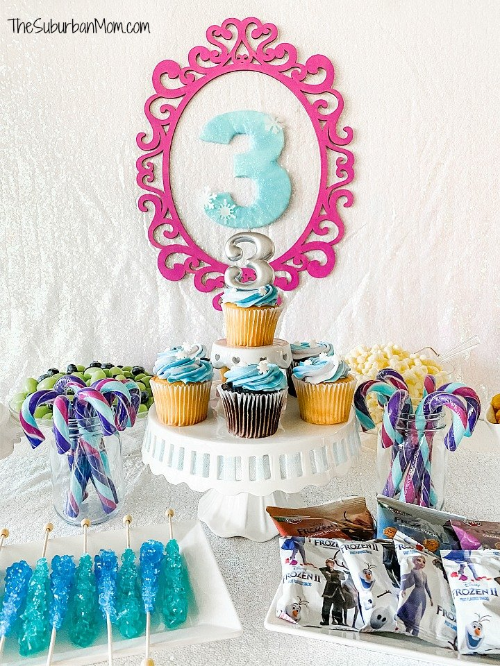 Frozen Birthday Desserts