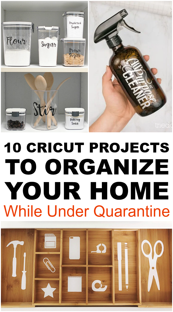 Cricut Projects Organize Your Home