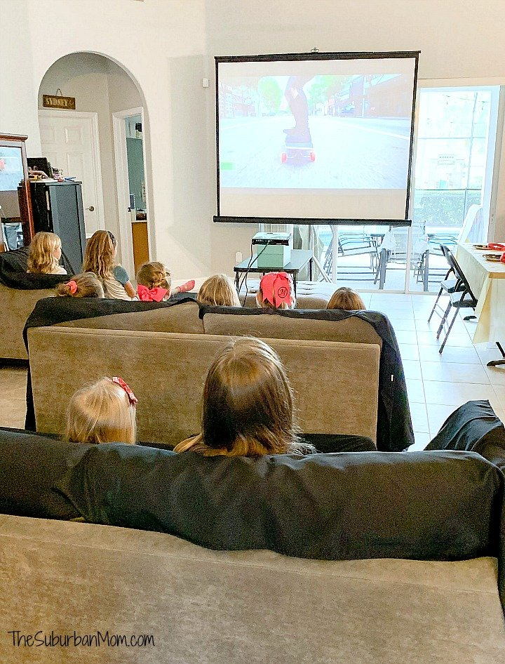 Home Movie Theater Party