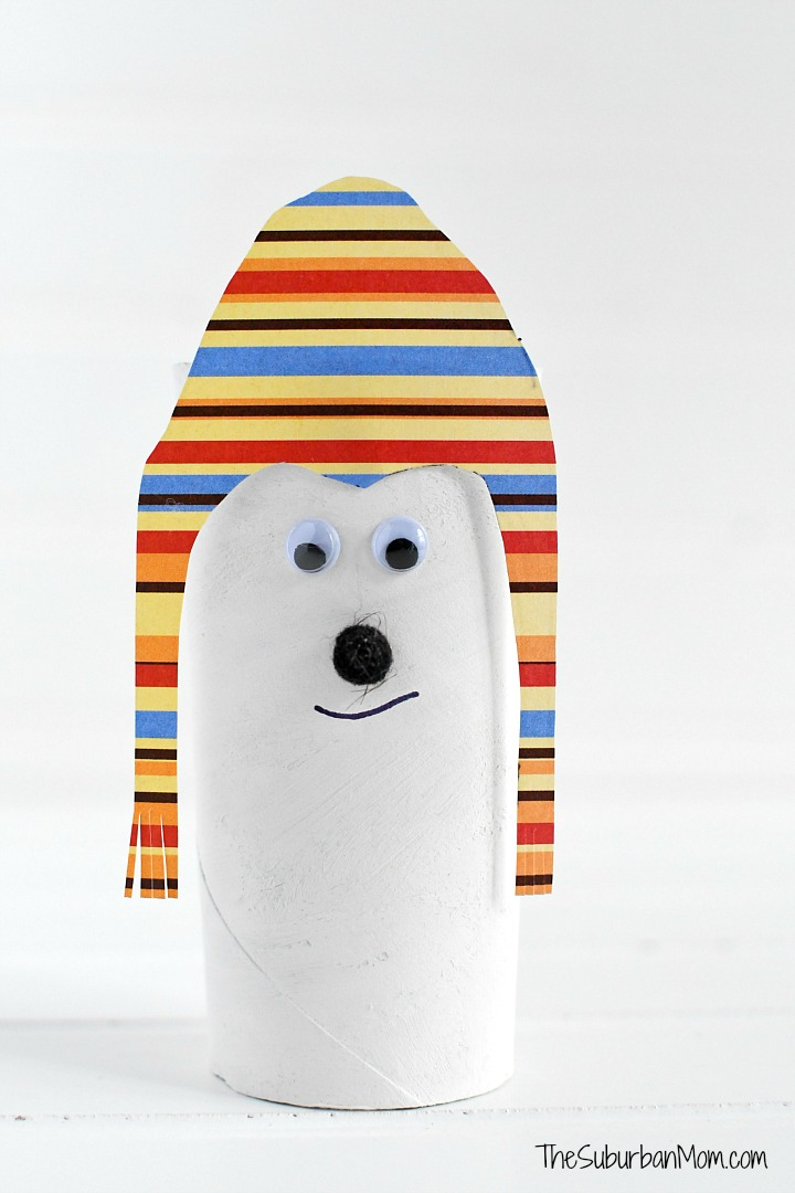 Polar Bear Toilet Paper Roll Craft