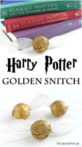 Harry Potter Golden Snitch Craft