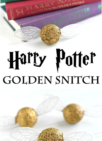 Harry Potter Golden Snitch Craft