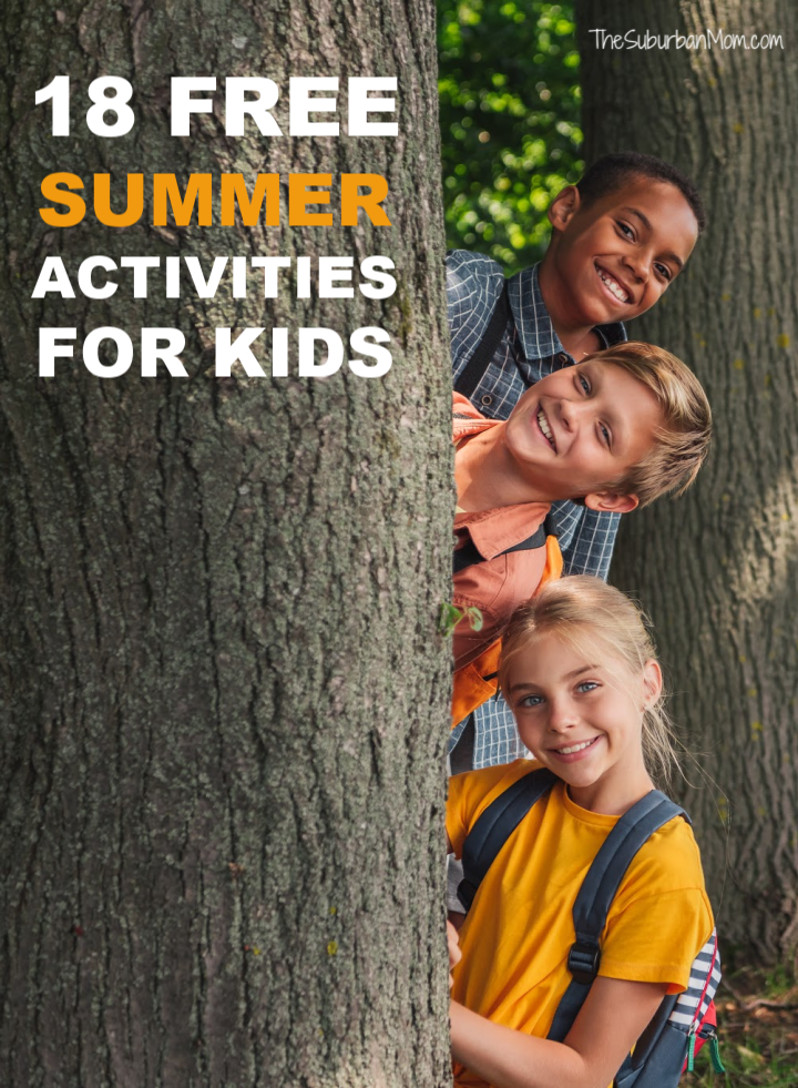 18 Free Summer Activities for Kids