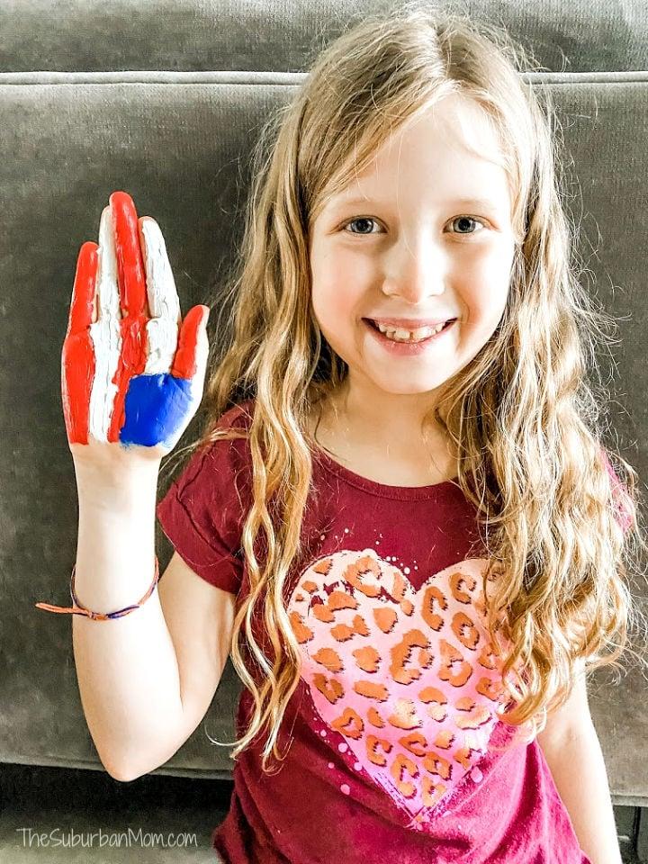 Handprint Flag