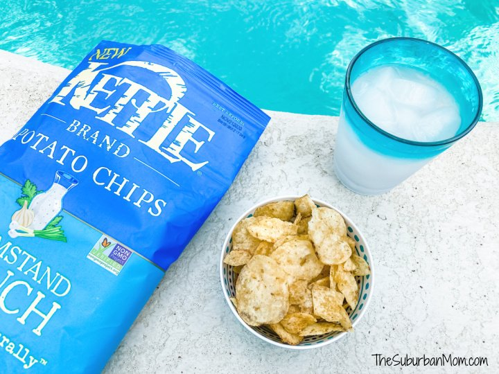 Kettle Chips Flatlay