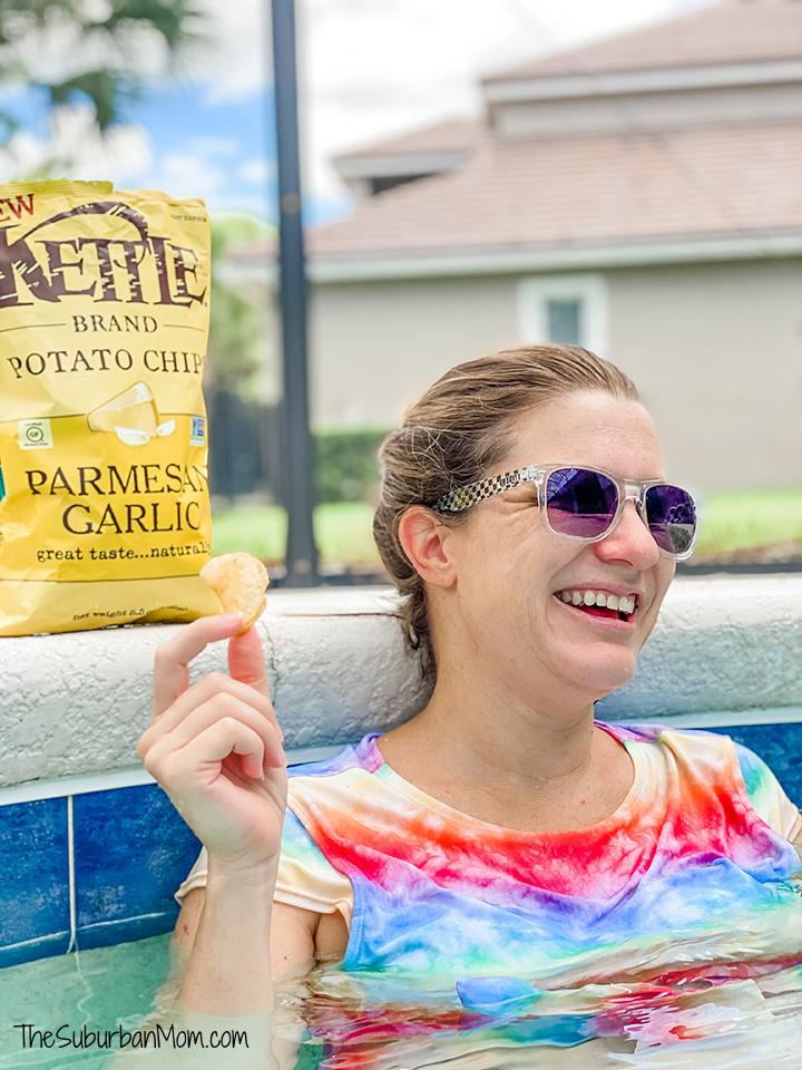 Kettle Chips Poolside