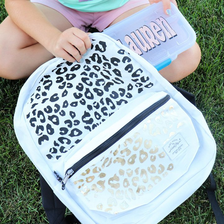 Cricut Backpack Idea