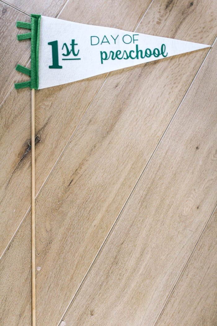 DIY-First-Day-of-School-Pennant-Flags