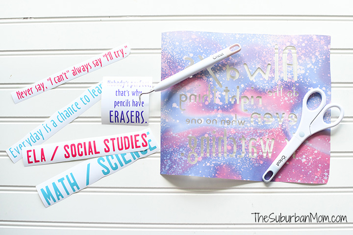 Personalized Homeschool Supplies