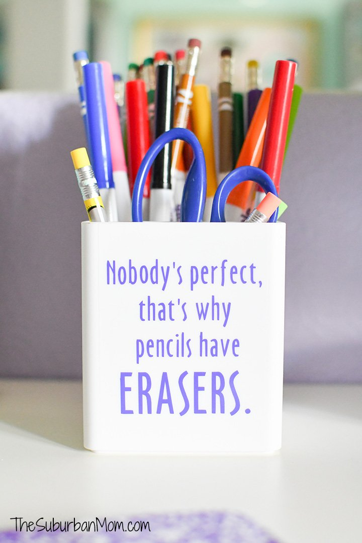 Personalized Pencil Holder