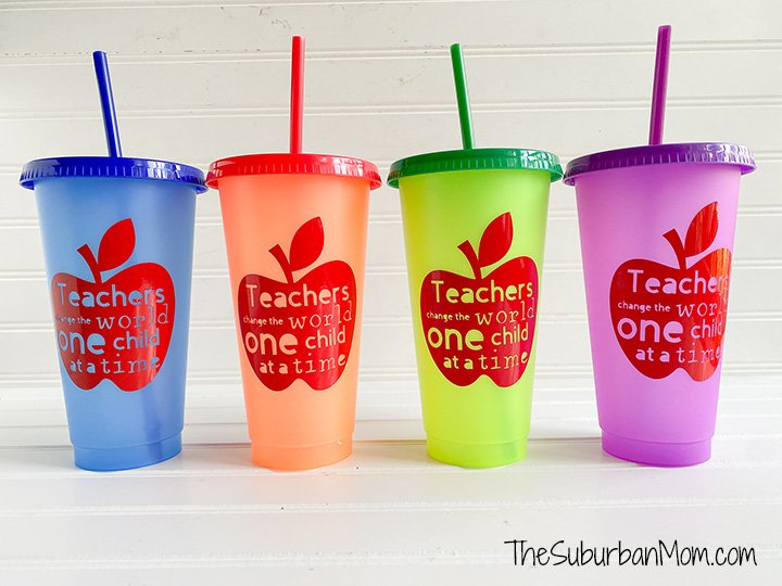 Teacher Gift Cups