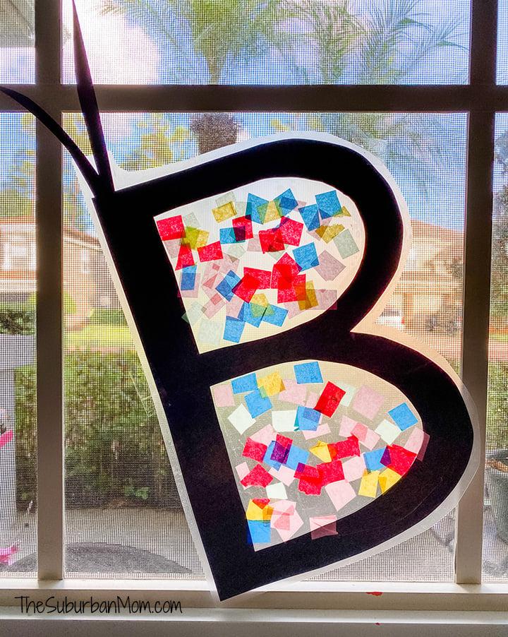 B is Butterfly Suncatcher
