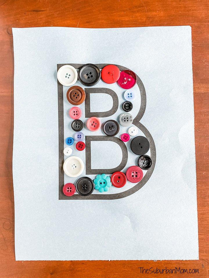B is for Button Craft