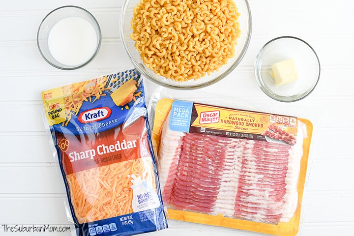 Bacon Mac And Cheese Ingredients
