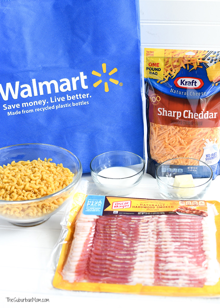 Bacon Mac and Cheese Ingredients Walmart