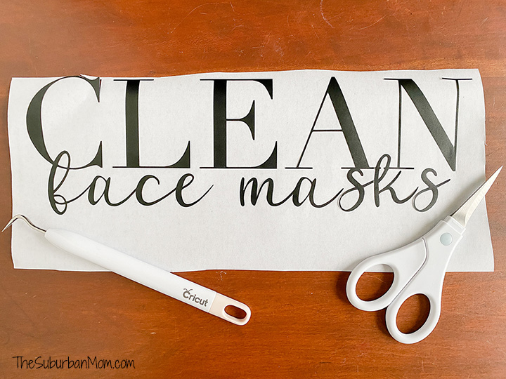 Clean Face Masks Decal