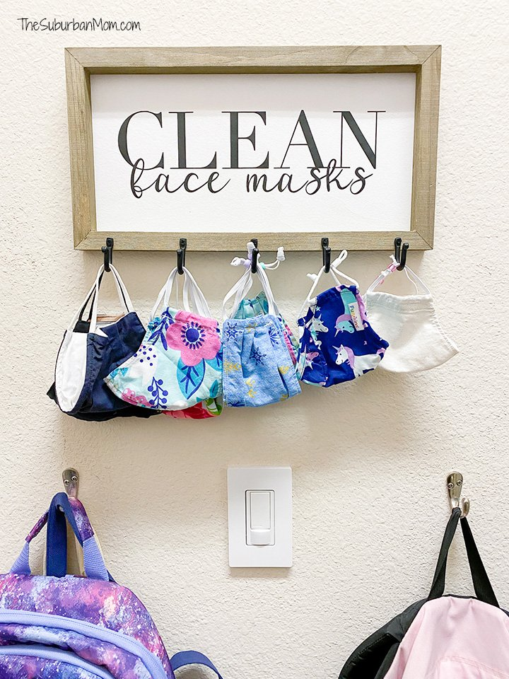 Cute Face Mask Storage
