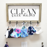 DIY Mask Storage Holder