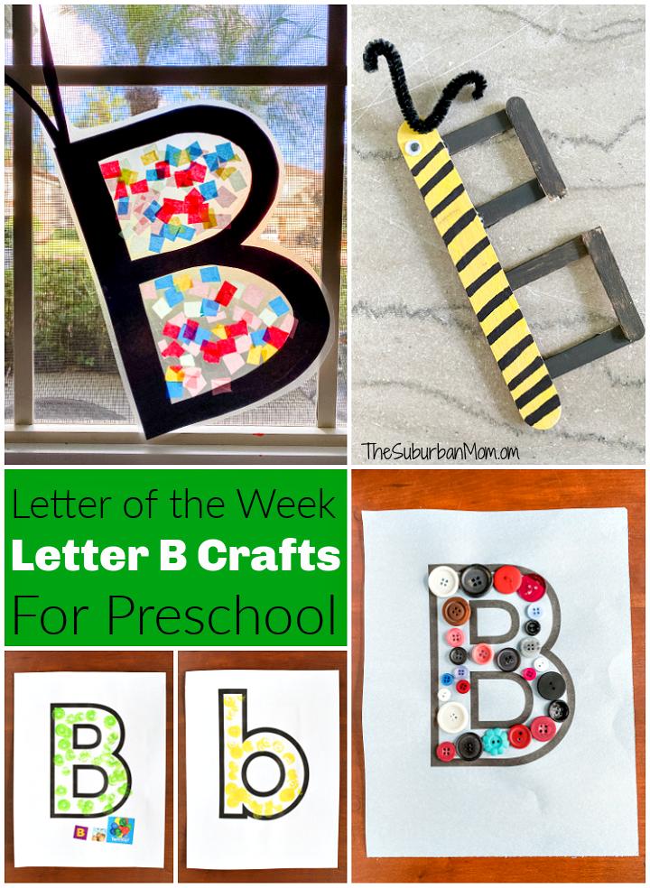 Letter B Crafts For Preschool