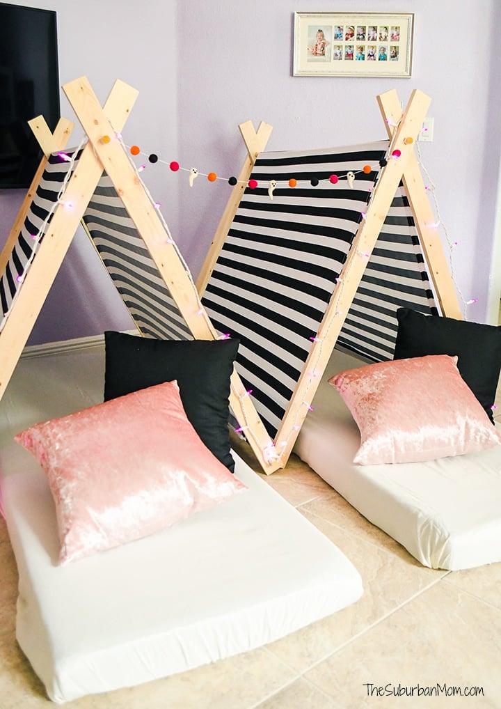 DIY Sleepover Tents