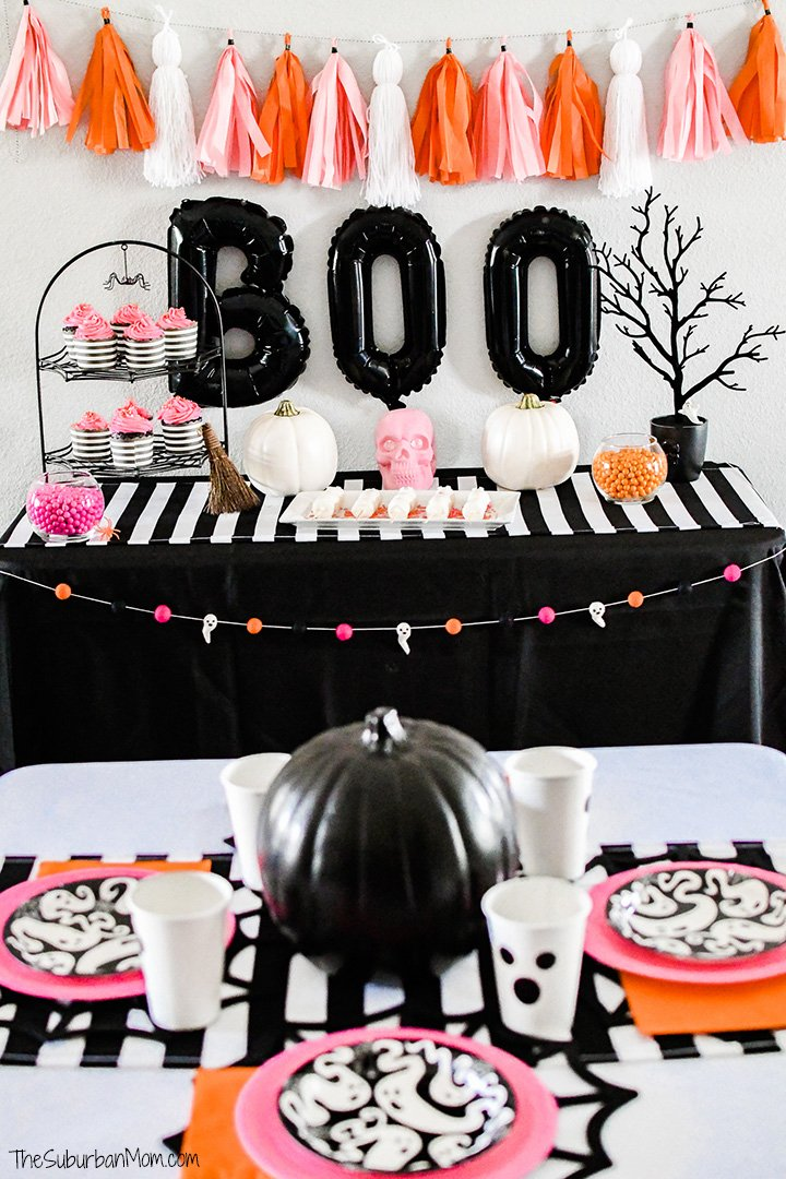 Girly Pink Halloween Party