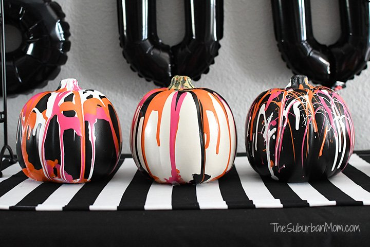 Halloween Drip Pumpkins