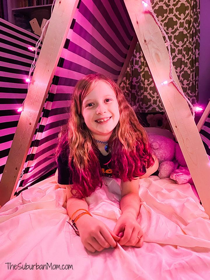 Pink Halloween Sleepover Tents