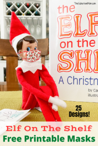 Elf On The Shelf Free Printable Masks