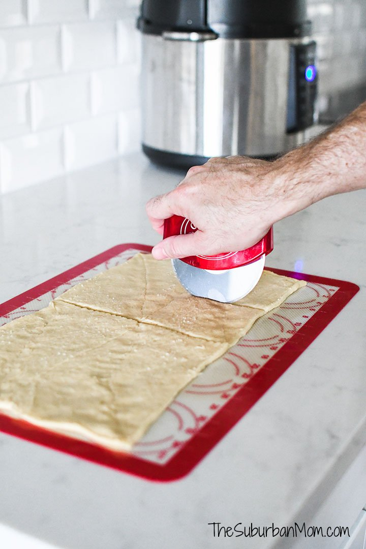 Cutting Crescent Dough