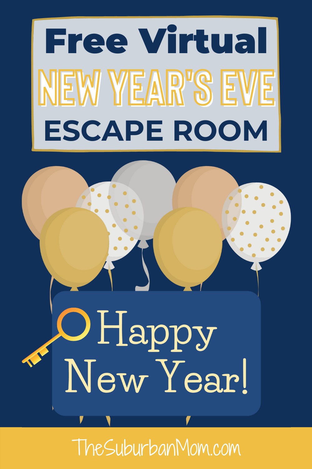 New Year S Eve Virtual Escape Room For Kids The Suburban Mom