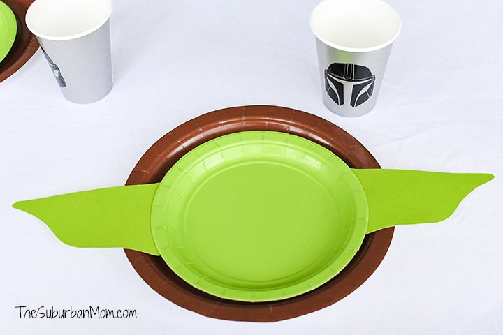 Baby Yoda Plate